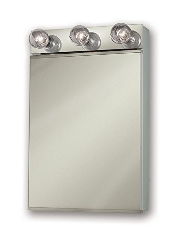 Jensen 565X Lighted Medicine Cabinet, 18' x 28'