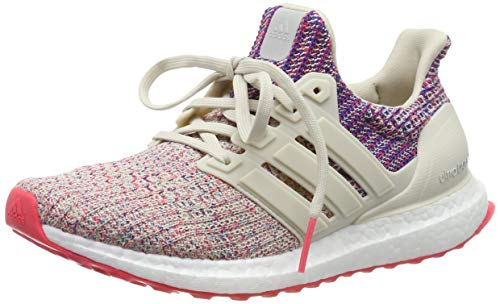 Adidas Ultraboost W, Zapatillas de Running para Mujer, Marrone (Clear Brown/Shock Red/Active Blue Clear Brown/Shock Red/Active Blue), 38 EU