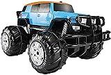 WBDZ Control Remoto Stunt Car + Todo Terreno 1/8 Continental Anfibio camión de Pista Impermeable 2.4GHz Radio de Alta Velocidad Control Remoto Carreras Escalada en Roca ventron niños Adultos
