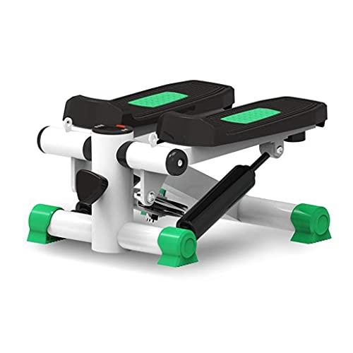 FGVDJ Mini Stepper, Schrittmaschine Haushalt Silent Twist Fitnessgeräte für Wohnzimmer, Büro, Fitnessstudio