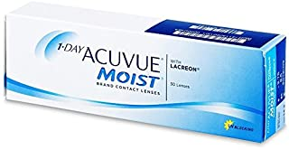 1-Day Acuvue Moist Contact Lens - 30 Pack, Clear, -3