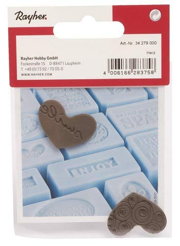 Rayher 34279000 Labels Herzen