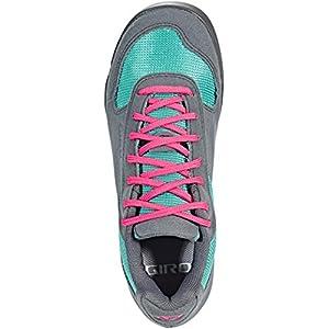 Giro Petra VR Womens Mountain Cycling Shoe − 37, Turquoise/Bright Pink (2019)