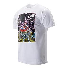 New Balance Camiseta de Manga Corta Blanca para Hombre - MT93525