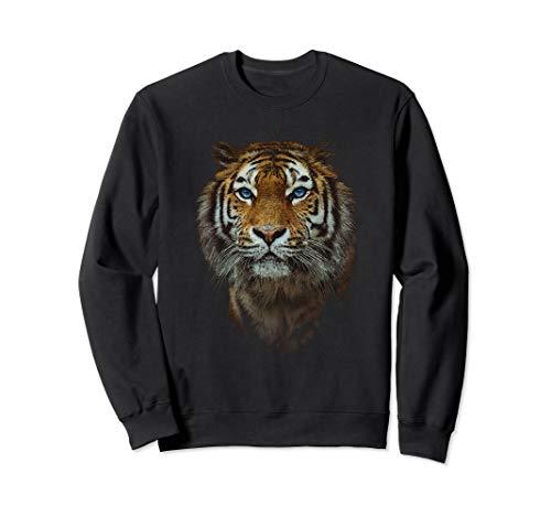 Bengal Tiger Shirt Endangered Wildlife Animal Species Gift Sweatshirt