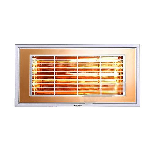 LVZAIXI geïntegreerde plafondverwarming keuken badkamer toilet koolstofvezel verwarmingsbad
