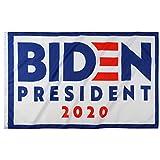 shinyis Joe Biden Kamala Harris Build Back Better for 2020 President Democratic 3' X 5' Ft Banner Breeze Voting Flag Outdoor Activity Rally Sign (Biden 2020 Flag White)