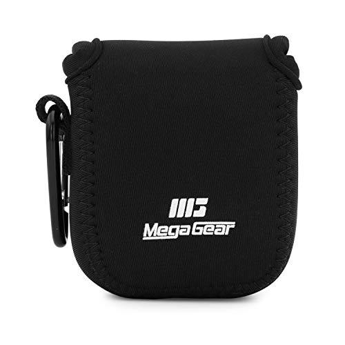 MegaGear MG1871 Ultraleichte Kameratasche aus Neopren kompatibel mit GoPro Max - Schwarz