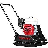 TOMAHAWK 5.5 HP Honda Vibratory Plate Compactor Tamper for Ground, Gravel, Dirt, Asphalt, Compaction GX160 Engine