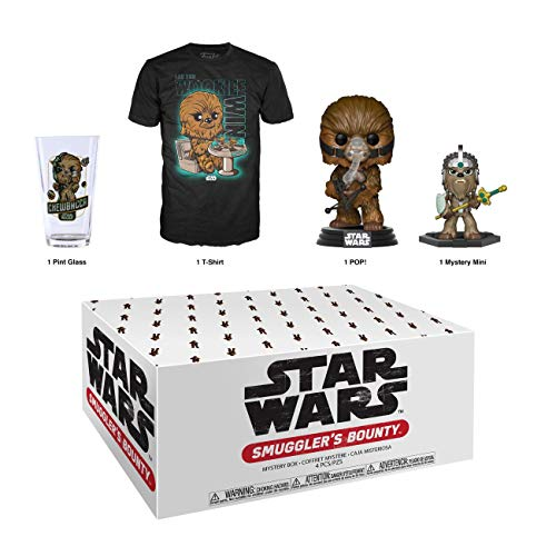 Funko Star Wars Smuggler's Bounty Subscription Box, Wookie Theme, April 2019, Large T-Shirt