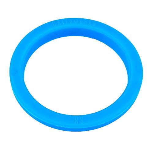 Snapworld-Kaffee Dichtung O-Ring Siebträgerdichtung kompatibel als Ersatz für CIMBALI - NUOVA SIMONELLI - VICTORIA ARDUINO Espressomaschine Kaffeemaschine Brühgruppe (Blau) ø 71 x 56 x 9mm
