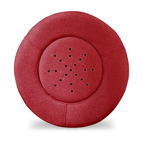 RONG HOME Rauchlose Moxibustion Kissen einstellbare Temperatur sitzende Moxibustionstuhl, geeignet für den Einsatz am Bauch, Gesäß, Füße und Rücken,Rot