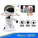 HWUKONG BabyMonitor, cámara para teléfono de 1080PHD, cámara de niñera con...