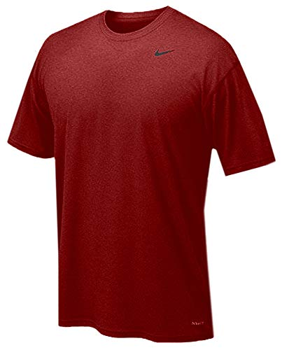 Nike Short Sleeve Legend Mens - Large - Grey