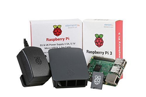 U:Create Raspberry Pi 3 Official Desktop Starter Kit (16Gb, Black)
