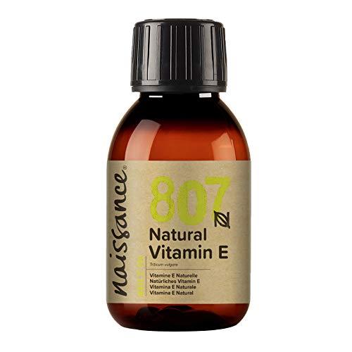 Naissance Olio di Vitamina E Naturale 100ml - Naturale, Vegano, Cruelty Free - Idratante e Rigenerante- Ideale per Aromaterapia, Cura della Pelle e dei Capelli, Formulazioni Cosmetiche