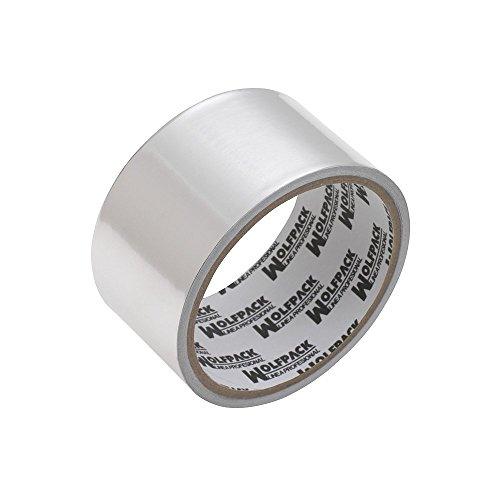 Wolfpack 14060122 - Cinta adhesiva (aluminio, 48 mm x 5 m)