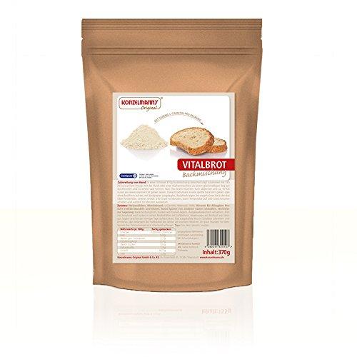 Konzelmann's Original - Protein Brotbackmischung Vitalbrot - 370g