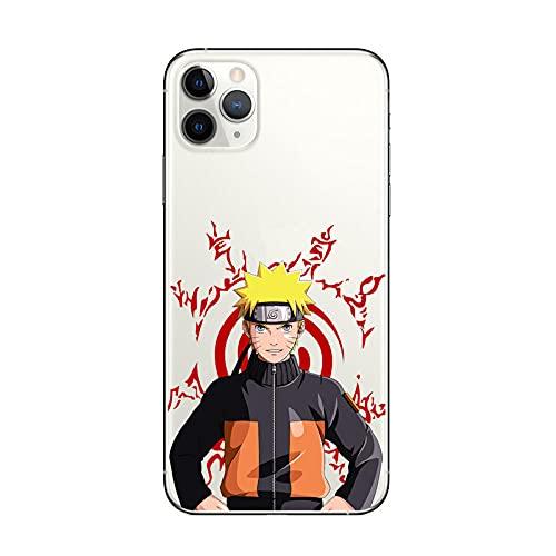Funda iPhone 7 8 Plus Naruto Anime Diseño Silicona TPU Cover Caso Dibujos Animados Carcasa para iPhone 7 8 Plus-l_iPhone_6_6s_Plus