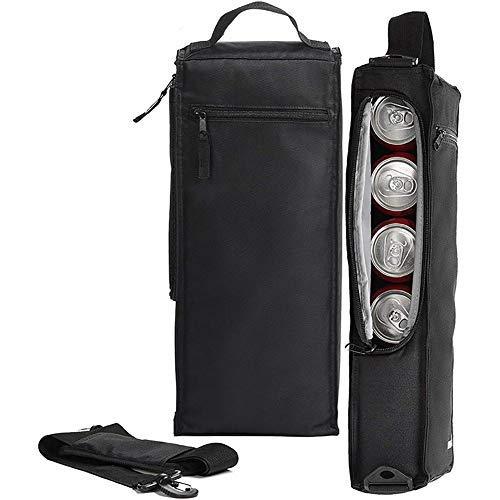 Bolsa de hielo de golf – Bolsa enfriadora de golf – Refrigerador con aislamiento suave para 6 latas o dos botellas de vino