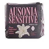 Ausonia - Compresa Normal con Alas Sensitive Ausonia 14 uds