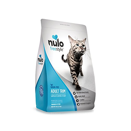 Nulo Freestyle Salmon & Lentils Recipe Grain-Free Adult Trim Dry Cat Food   Chewy