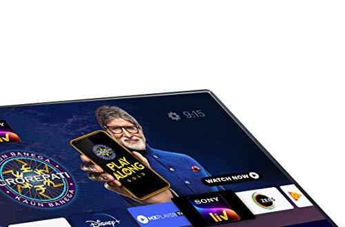 Kodak 108 cm (43 Inches) 4K Ultra HD Certified Android LED TV 43UHDX7XPRO (Black) (2020 Model)