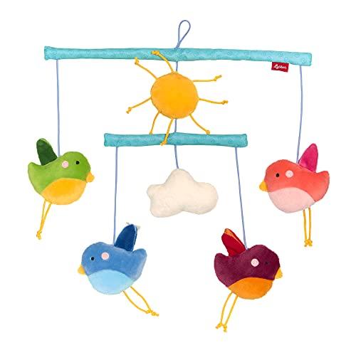 SIGIKID Niñas y niños, pájaros móviles, recomendado a partir de 0 meses, multicolor, 42787