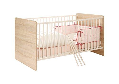 Ticaa Babybett Milu Sonoma-Weiß