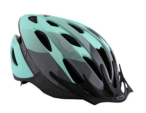 Schwinn Thrasher Bike Helmet, Lightweight Microshell Design, Adult, Teal/Black