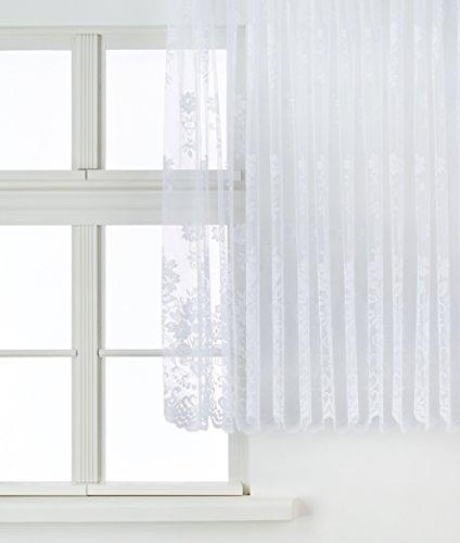 Anna Cortina 8841796L, Tendina per Finestra, Bianco (Weiß), 295 x 300 cm
