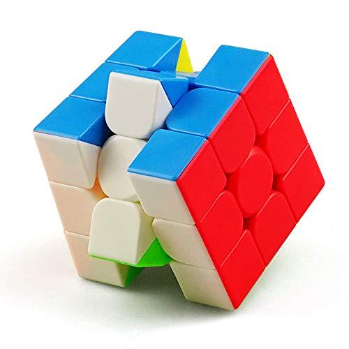 I-xun Speed Cube 3x3x3x3 Profession - Cubo mágico 3D sin adhesivos