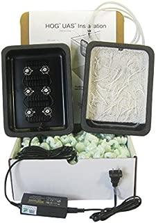 Santa Monica Filtration HOG3 Saltwater Upflow Algae Scrubber with Strings & Green Grabber Textures