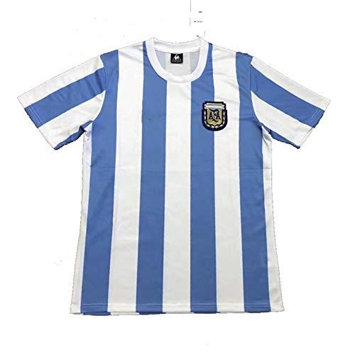 MIAOR Maradona # 10 Fußballuniformen, für 1986 Argentinische Fußball-Nationalmannschaft T-Shirts, Fans Gedenk-Trikots, Tribut an Fußballhelden