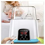 TANCEQI Elektrischer Dampfsterilisator Multifunktionsmuttermilch Heizung Baby-Flaschenwärmer Babynahrung Heater Breast Sterilisator Mit Temperaturregelung