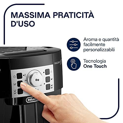 Delonghi Magnifica coffee machine in kitchen