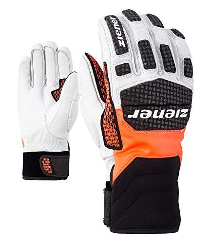 Ziener Herren Speed Warm Race Snowboard Handschuhe Einheitsgröße orange (Poison orange)