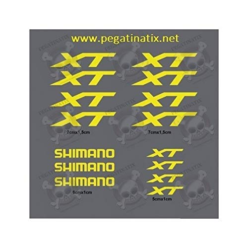 MTB Shimano XT Stickers Decals AUFKLEBER Pegatinas AUTOCOLLANT Full Color