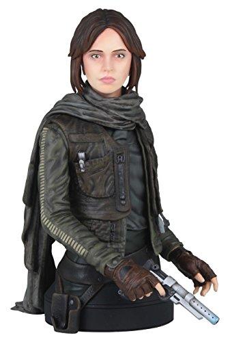 Gentle Giant Studios/Star War GG80718 Star Wars Jyn Erso Seal Commander Mini-Büste, Maßstab 1:6