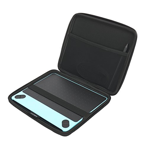Aproca Hard Travel Storage Case Compatible Wacom Intuos Small Black Digital Drawing Graphics Tablet CTL4100 CTL490DW