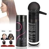 Haar-Fasern, Haar-Pulver-5 färben Berufshaar-Verlust-Lösungs-Abdeckstift für Verdünnung Haar-Haar-Spray für Frauen und Männer Bestes Haar, das Produkte mit Pumpen-Spray-Applikator...