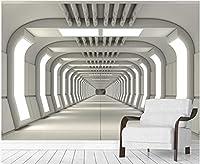 MAZF カスタム写真壁画3D壁紙HDフォレストレイクスワンロータスランドスケープ家の装飾リビングルーム用3D壁壁画壁紙350cm(B)x 260 cm(H)