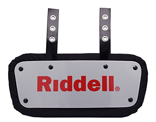 RIDDELL SPORTS Back Plate Gray, One Size