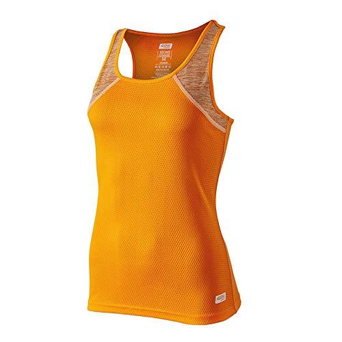 42K RUNNING - Camiseta técnica Tirantes 42K XION2 Summer para Mujer FluorOrange