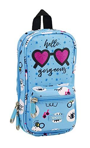 Moos 411830747 2018 Bolsa de Aseo, 23 cm, Azul