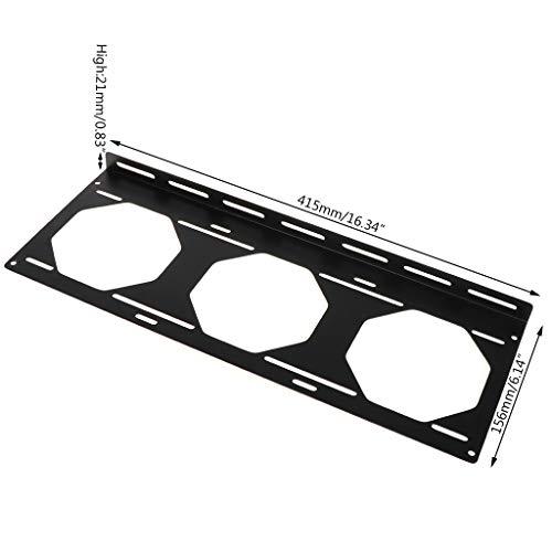 Lüfterhalterung 240 Radiator Montagehalterung Wasserkühler für 12/14 cm Lüfter Halter Externe Computer-Kasten Kühlkörper Gadget-Zubehör