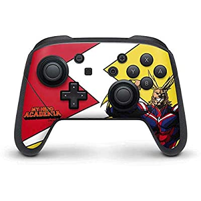 Skinit Decal Gaming Skin for Nintendo Switch Pro Controller - Officially Licensed Funimation All Might Design by Skinit