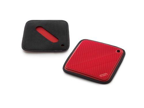 Lékué 0232500R14U045 Maniques/Dessous de Verre Plastique Rouge 45 x 35 x 25 cm