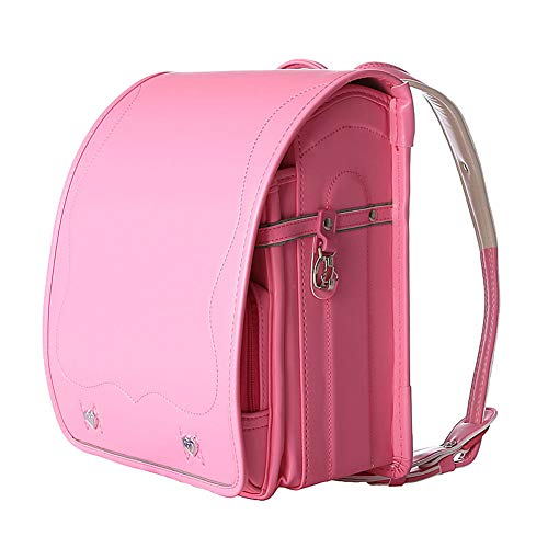 Ransel Randoseru automatic Lock Japanese school bags for girls boys PU Leather