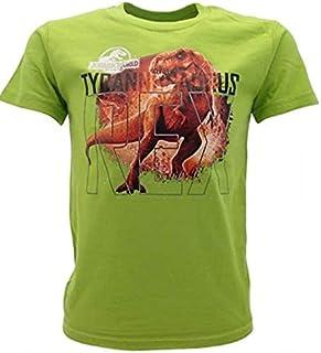 Jurassic World Camiseta original T-Rex, producto oficial del Reino Destrucutto verde pistacho